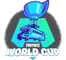 Logotipo de la Fortnite World Cup